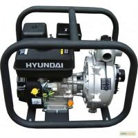 Пожарная Мотопомпа Hyundai HYH 50. Высоконапорная. Подача на 70 м