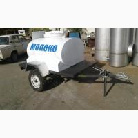 Прицеп для транспортировки молока с охладителем на 1000 л