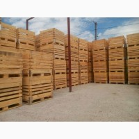 Продам ящики та контейнери для зберігання овочів та фруктів.дерев#039;яна тара