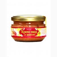 Крем-мед із арахісом 130г