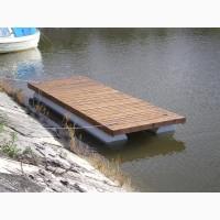 Водные понтоны, причалы, мостки для купания и рыбалки