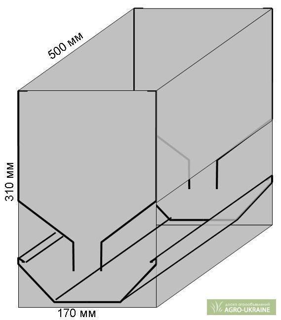 Бункерные кормушки для кур своими руками чертежи