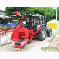 Измельчитель древесины Фарми 260HFC с манипулятором Фарми 4067