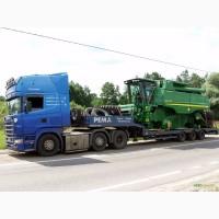 Перевозим негабарит тралами (комбайны, трактора, техника.)