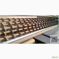 Спираль сварная шнековая (шнек) для цемента/песка. Диаметр 140. Лопасть 4 мм. Под заказ