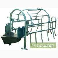 Станки для опороса,кормовые аппараты,полы щелевые