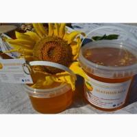 Мед натуральный подсолнух 1 л