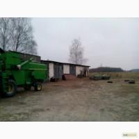 Продаю действующие с/х предприятие в Житомирской Обл. 600га
