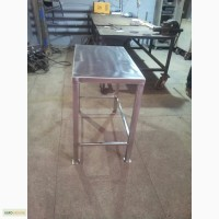 Стол с нержавеющей стали, конструкционной стали