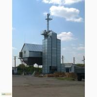 Зерносушильная колонна