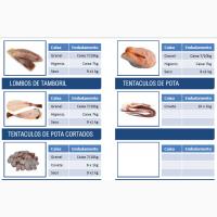 Рыба замороженная с Португалии