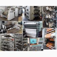 Флексографская печатная машина Ярусного построения