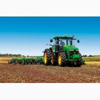 Культивация и вспашка тракторами John Deere
