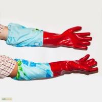 Продам прорезиновые перчатки с нарукавниками