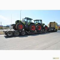 Услуги трала по Украине перевозка комбайнов тракторов