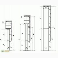 Изготовление и монтаж водонапорных башен, башня Рожновского цена