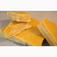 Продам віск жовтий з світлим відтінком 500 кг