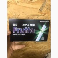 Сигаретные гильзы со вкусом яблочная мята 100 шт
