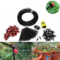 Комплект для капельного полива сада огорода Aqualin 25м + 30 форсунок