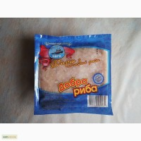 Добра Рыба Фарш рыбный - из филе Азовского бычка. Диетический продукт. Без ГМО