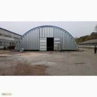 Монтаж и производство бескаркасных арочных ангаров, складов и перекрытий