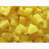 Продам замороженный ананас кубик