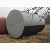 Емкость резервуар цистерна бочка металлическая горизонтальная 18 кубов Доставка