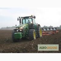 Услуги обработки земли, посев работаем по всей Украине