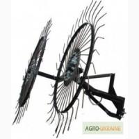 Грабли ворошилки-солнышко большие Премиум на 2 колеса (1, 2м)