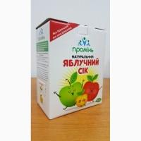 Сок яблочный прямого отжима Проминь 3л