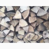 Продажа дров колотых твердых пород древесины