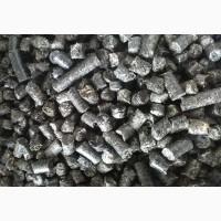 Пеллеты (гранулы) из лузги подсолнечника