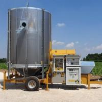 Мобильная зерносушилка Mecmar FSN12/110F