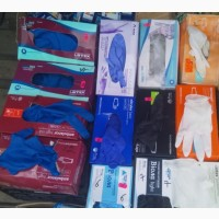 Перчатки. упаковка 100 штук, .виниловые, нитриловые, латексные.S, M, L, XL