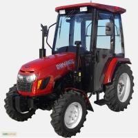 Мини-трактор DW 404DC с кабиной Гарантия и сервис от завода ДТЗ
