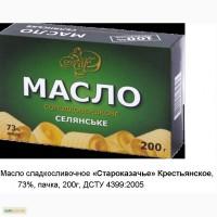 Масло сливочное 73% ГОСТ