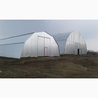 Будівництво Зерносховища, овочесховища, металеві конструкції, Киевская обл