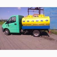 Продажа молоковоза ГАЗ и шасси заказчика