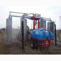 Опрыскиватель bertoni для садов и виноградников тм 200, тr 200