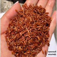 Рис Красный длиннозерный нешлифованый