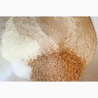 Продам цельнозерновую муку, пшеничную и ржаную, разного помола, экологически чистую