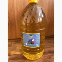 Олія соняшникова 10 л, 5 л, 1 л