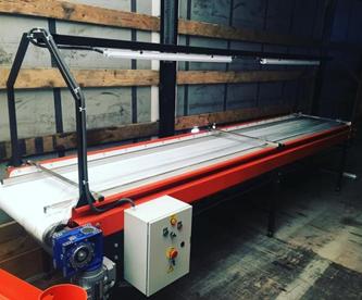 Инспекционные конвейере транспортер шлакоудаления скребковый