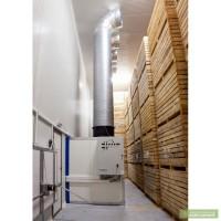 Хранение картофеля в контейнерах с вентиляцией и охлаждением Combivent, Комбивент