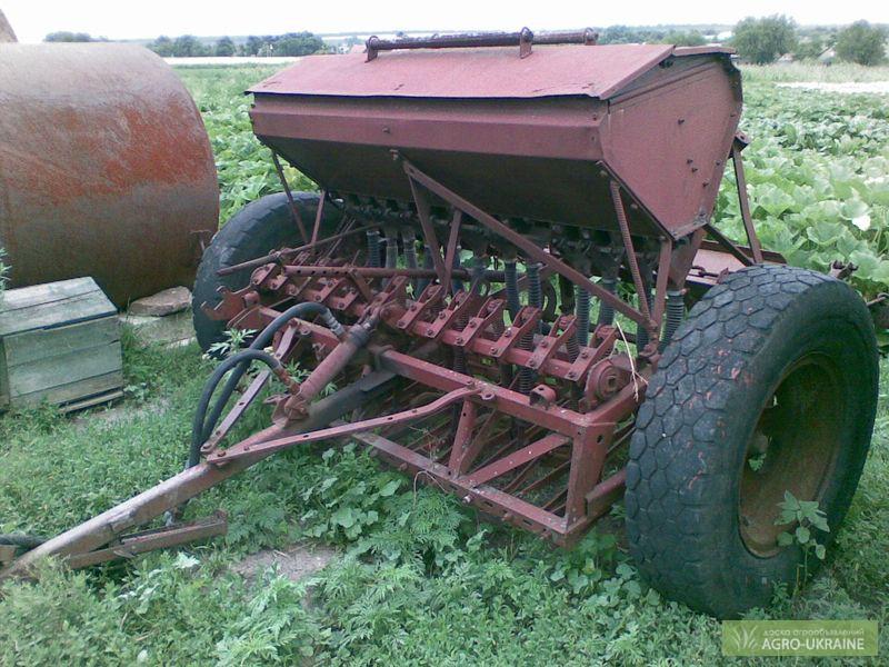 Сеялка зерновая 12-рядная к трактору