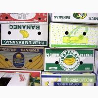 Ящик банановый тара короб упаковка для овощей