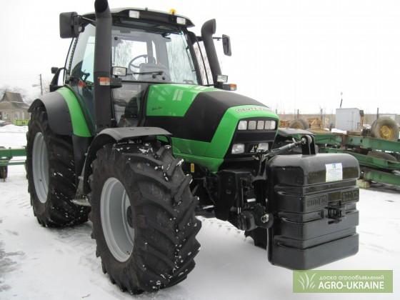 фото импортные трактора