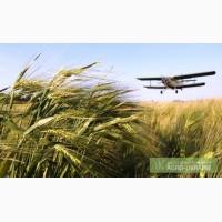 Химобработка полей кукурузником Ан-2