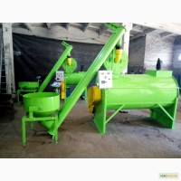 Комбікормова установка, змішувач горизонтальний, подрібнювач зерна