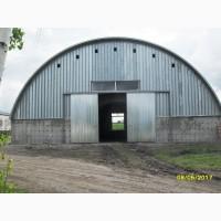Бескаркасные ангары, склады, зернохранилища